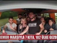 Memur Maaşıyla 102 Ülke Gezen Ankaralı Eleman