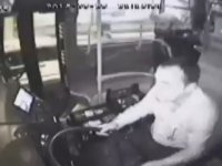 Otobüs Şoförünün Boğazına Bıçak Dayayan Yolcu - Hatay