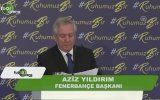 Kumpaslarla Beni Yıkıp Fenerbahçe'yi Ele Geçirmek İstediler  Aziz Yıldırım