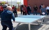 Alex De Souza'nın Ayak Tenisi Oynaması