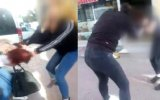 Liseli Kezbanların Sokak Ortasındaki Kavgası  Sivas