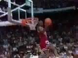 Michael Jordan Nba Bulls Dunk Compilation