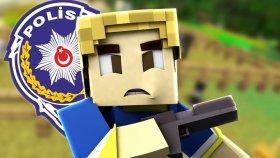 Mınecraft Conconcraft - Polis Burak Oyunda