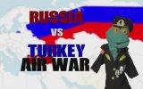 Rusya vs Türkiye Hava Savaşı Similamasyonu