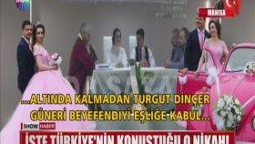 Türkiye'nin Konuştuğu O Nikahın Görüntüleri