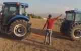 Traktörlerle Güç Denemesi  Ağrı