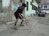 Tenis Topuyla Harikalar Yaratan Sporcu