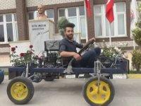 Topladıkları Hurdalarla Otomobil Yapan Öğrenciler