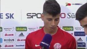 Antalyasporlu Futbolcuyu Yabancı Sanan Muhabir