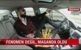 Ayağıyla Araba Kullanan Adam  Erzurum