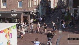 İzlerken Stres Yaratan Amsterdam Bisikletlileri