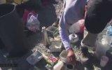 Yanardağın Böğründe Piknik Yaparken Patlaması
