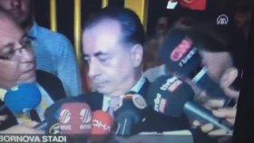 Rıza Kocaoğlu'nun Galatasaray Başkanına Terbiyesizlik Yapması