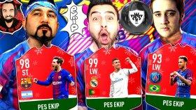 Ronaldo ! Messi ! Neymar ! Ümidi ! Sesegel ! Emjan ! Ohaaaa ! Pes Ekip