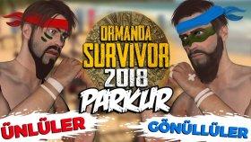 Survivor Parkuru Yaptık ! Ormanda Survivor #11