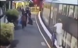 Trenin Altında Kalan Kadının Mucize Kurtuluşu