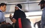 Sarhoş Yolcunun Uçağı Birbirine Katması