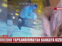 Borcunu Yapılandırmayan Bankaya Kızıp ATM'sini Yakan Adam
