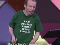 Yetenek Yarışmasını Kazanan Konuşma Engelli Komedyen