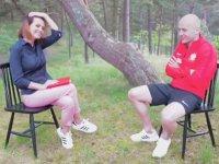 Polonyalı Futbolcu Michal Pazdan'ın Güzel Sunucuyu Mest Eden Refklesi