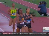 Deli Gibi Depar Atan Kadın Atlet
