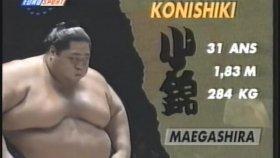 284 Kiloluk Sumo Güreşçisinin Yenilmesi.