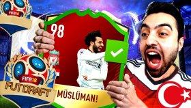 Dünya Kupası Müslüman Futbolcular Fut Draft Challenge !