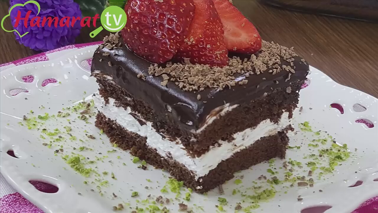 Çikolata Soslu Yanardağ Pasta Tarifi Videosu
