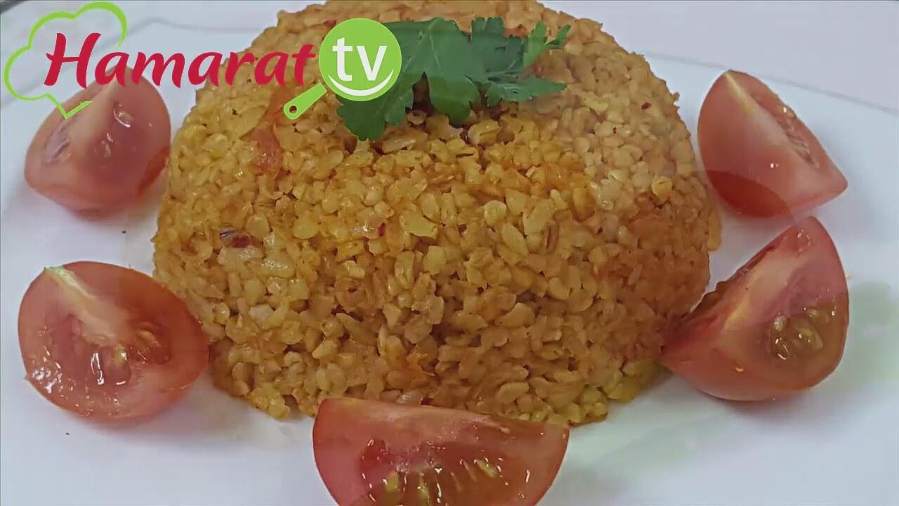 2 kişilik domatesli pilav tarifi ve malzemeleri