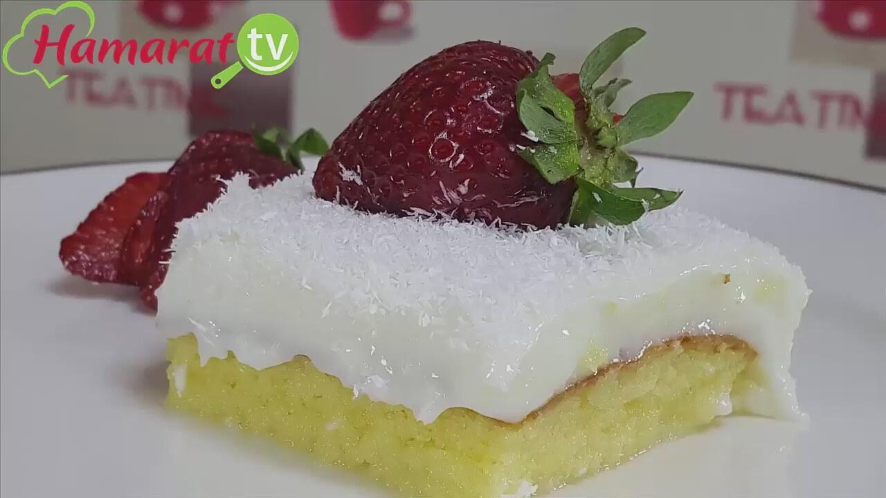 Meyve Şöleni Yaş Pasta Yapılışı Videosu