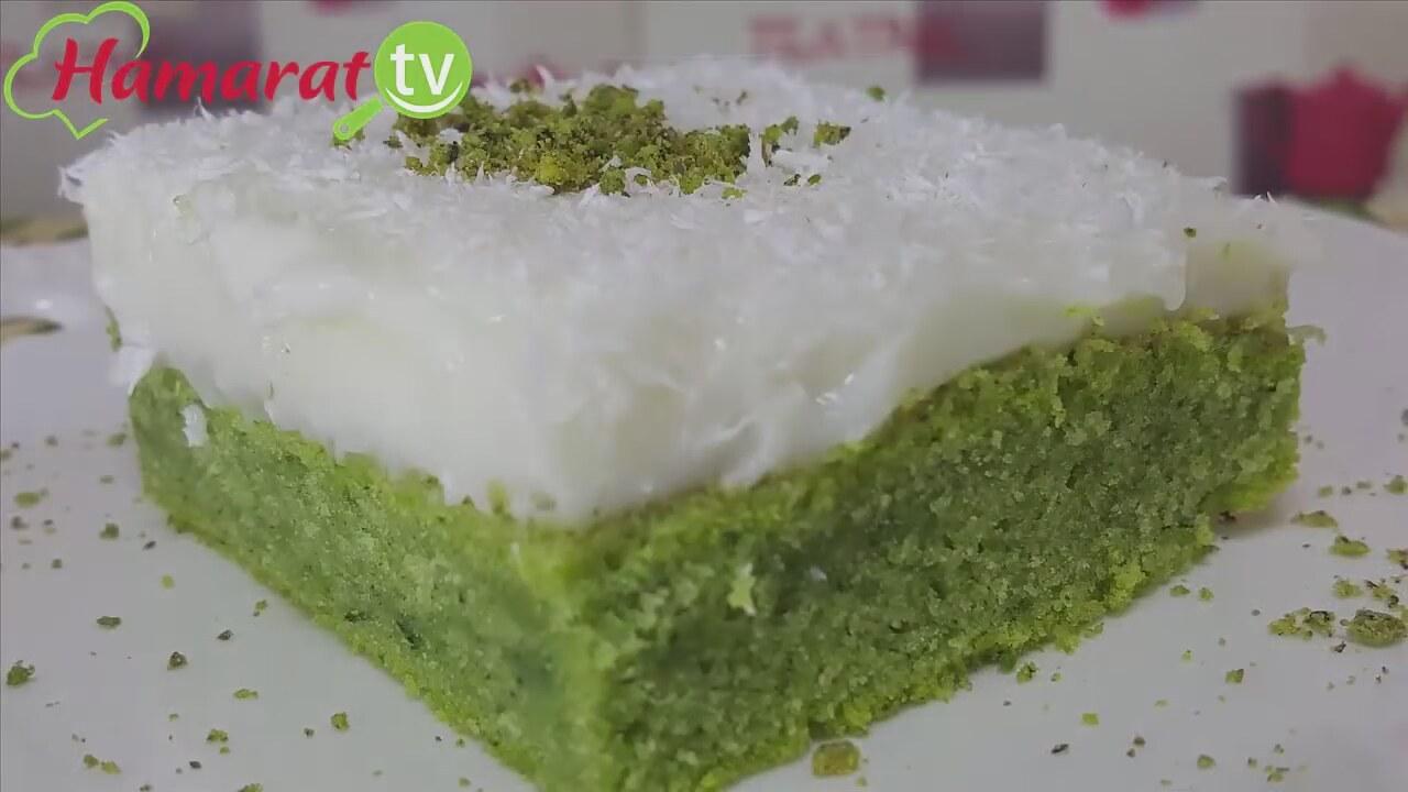 Ispanaklı Puf Pasta Tarifi