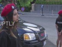 Lübnan'ın Mini Şortlu Kadın Polisleri