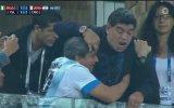 Kafayı Çekip Maça Gelen Maradona Nijerya  Arjantin
