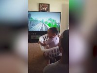 Kızına Sepet İçinde Roller Coaster Heyecanı Yaşatan Baba