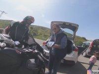 Medeni Şekilde Biten Motosiklet Kazası