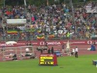 Rakibini Düşürmeye Çalışan Etiyopyalı Atlet Yomif Kejelcha