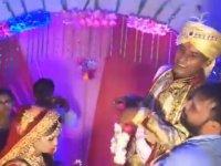 Hint Düğünündeki Tokat Patlaması