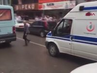 Ambulansa Yol Vermeyen Ambulans