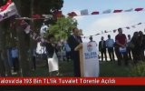 Yalova'da Törenle Açılan Tuvaletin Tahrip Edilmesi