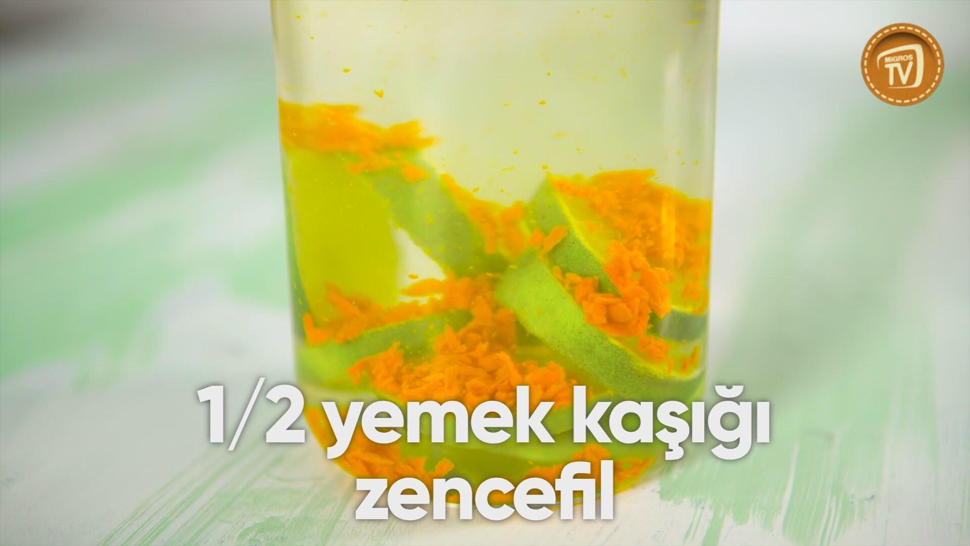 Zencefilli Gazoz Tarifi