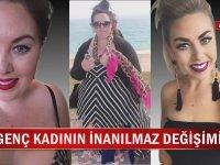 1,5 Yılda 66 Kilo Veren İnanılmaz Kadın