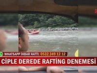 Ciple Derede Rafting Denemesi - Rize