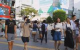 Dünyanın En Kalabalık Yaya Geçidi  Tokyo