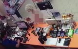 Markette Çırılçıplak Alışveriş Yapan Hatun  Rusya
