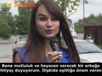 Ukraynalı Kızlara Hayalindeki Erkek Tiplerini Sormak