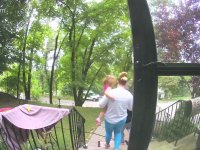 Ailenin Yürüyüşünü Engelleyen Doğa
