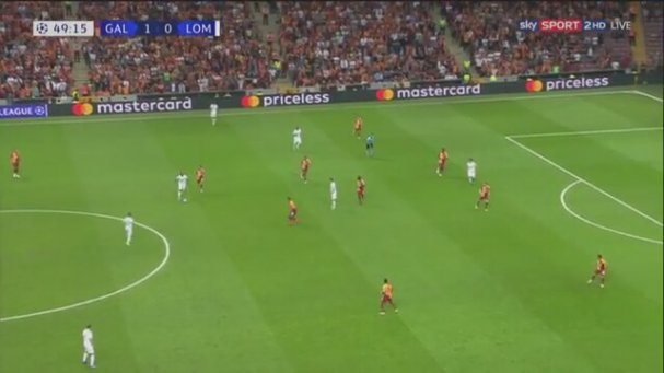 Galatasaray 3-0 Lokomotiv Moskova (Geniş Özet - 18 Eylül 2018)