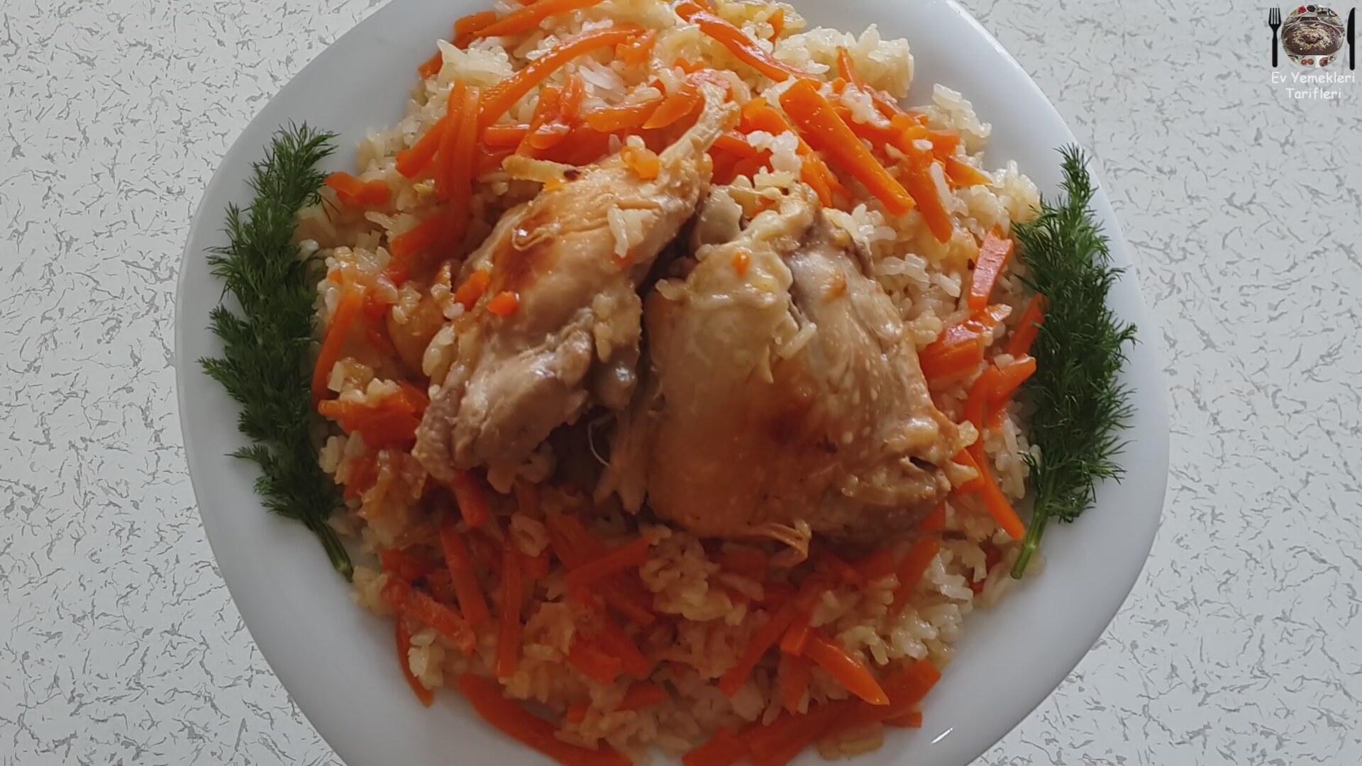 Özbek Pilavı Tarifi