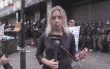 Ukrayna'da Canlı Yayında Muhabir Dövmek
