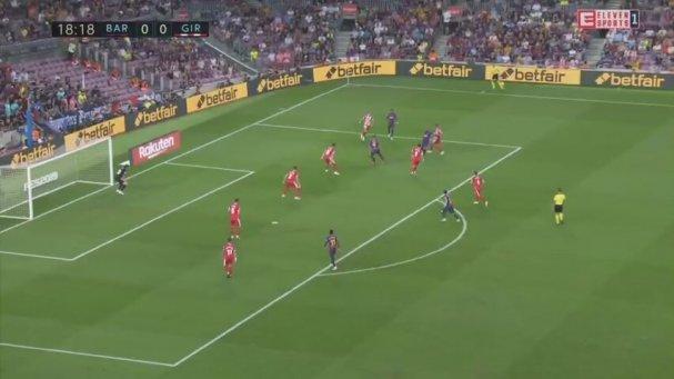 Barcelona 2-2 Girona (Maç Özeti - 23 Eylül 2018)